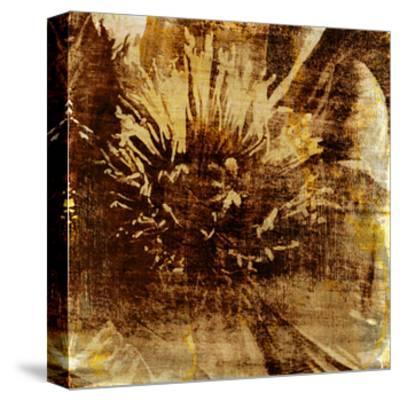 Poppy Gold IV-Sia Aryai-Stretched Canvas Print