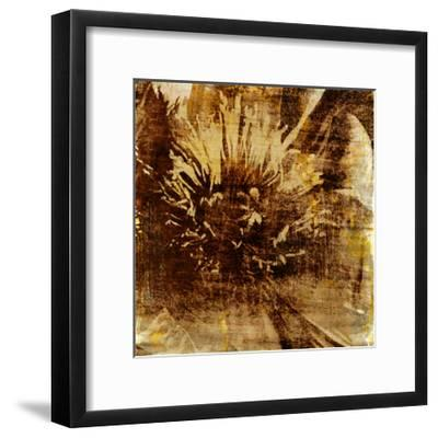 Poppy Gold IV-Sia Aryai-Framed Art Print
