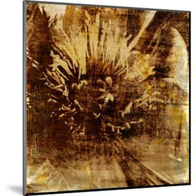 Poppy Gold IV-Sia Aryai-Mounted Art Print