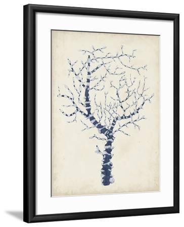 Indigo Coral II-Vision Studio-Framed Art Print