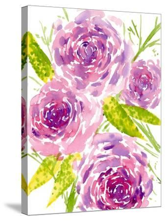 Bouquet Rose II-Melissa Wang-Stretched Canvas Print