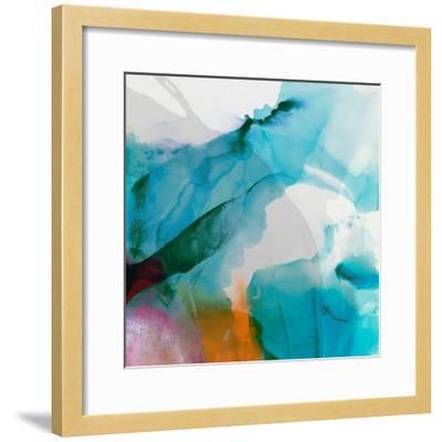 LA Abstract II-Sisa Jasper-Framed Art Print