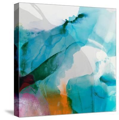 LA Abstract II-Sisa Jasper-Stretched Canvas Print