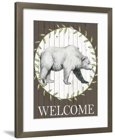 Woodland Walk III-Grace Popp-Framed Art Print