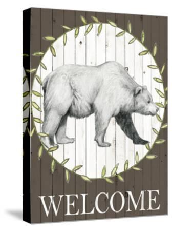 Woodland Walk III-Grace Popp-Stretched Canvas Print