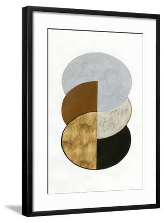Stacked Coins II-Grace Popp-Framed Art Print