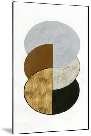 Stacked Coins II-Grace Popp-Mounted Art Print