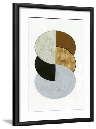 Stacked Coins I-Grace Popp-Framed Art Print