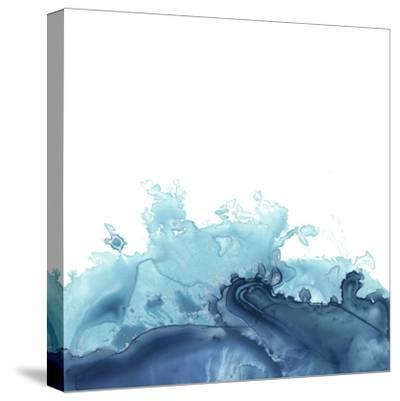 Splash Wave III-June Vess-Stretched Canvas Print