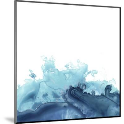 Splash Wave III-June Vess-Mounted Art Print