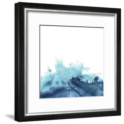 Splash Wave III-June Vess-Framed Art Print