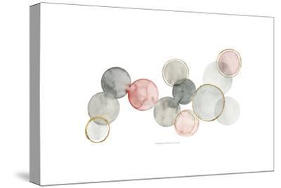 Gilded Spheres I-Grace Popp-Stretched Canvas Print