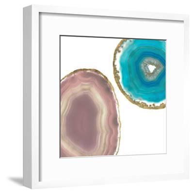 Gem Stones II-Jennifer Goldberger-Framed Art Print