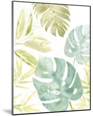 Island Medley III-June Vess-Mounted Art Print