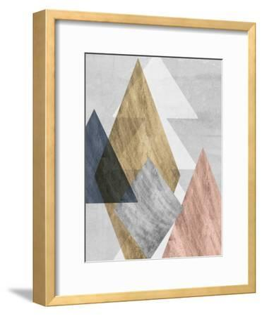 Peaks I-Jennifer Goldberger-Framed Art Print