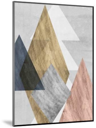 Peaks I-Jennifer Goldberger-Mounted Art Print