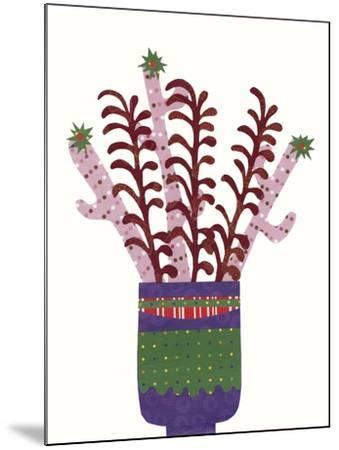Cheerful Succulent II-Regina Moore-Mounted Art Print
