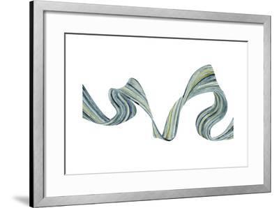 Ribbon Stream II-Grace Popp-Framed Art Print