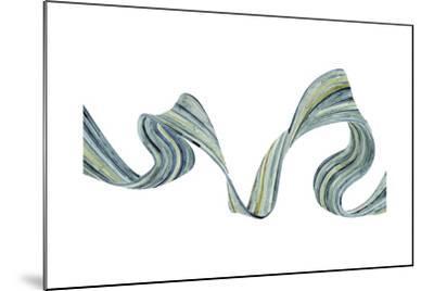 Ribbon Stream II-Grace Popp-Mounted Art Print