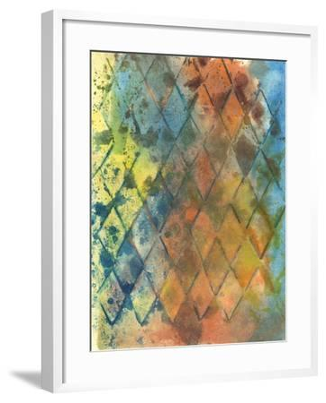 Spring Lattice I-Joyce Combs-Framed Art Print