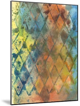 Spring Lattice I-Joyce Combs-Mounted Art Print