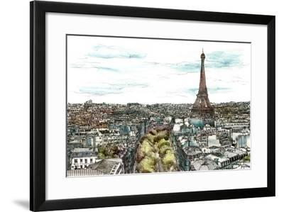 European Afternoon I-Melissa Wang-Framed Art Print