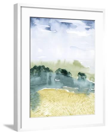 Mountain Vale I-Grace Popp-Framed Art Print
