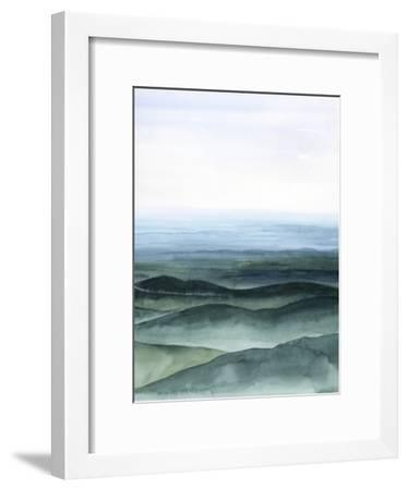 Plane View I-Grace Popp-Framed Art Print