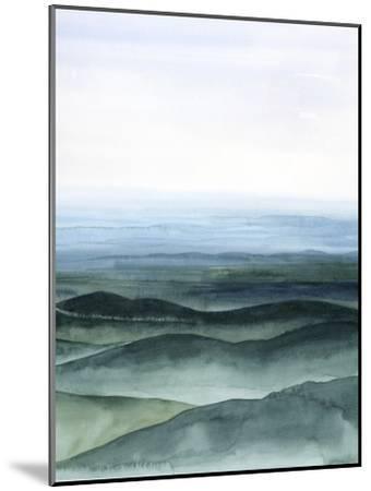Plane View I-Grace Popp-Mounted Art Print
