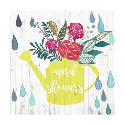April Showers & May Flowers I-Studio W-Framed Art Print