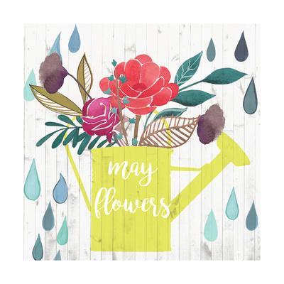 April Showers & May Flowers II-Studio W-Framed Art Print