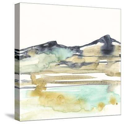 Mountains to Sea VI-Jennifer Goldberger-Stretched Canvas Print