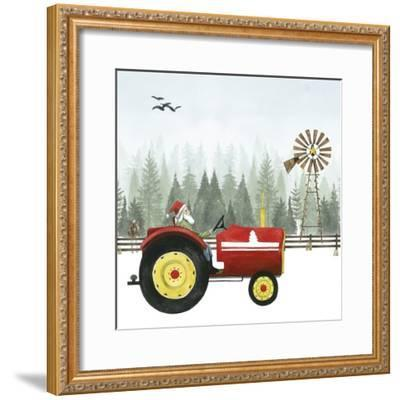 Country Santa II-Grace Popp-Framed Art Print