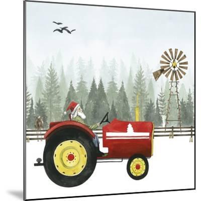 Country Santa II-Grace Popp-Mounted Art Print