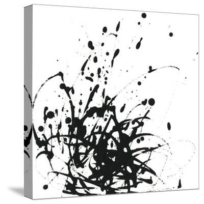 Onyx Expression I-June Vess-Stretched Canvas Print