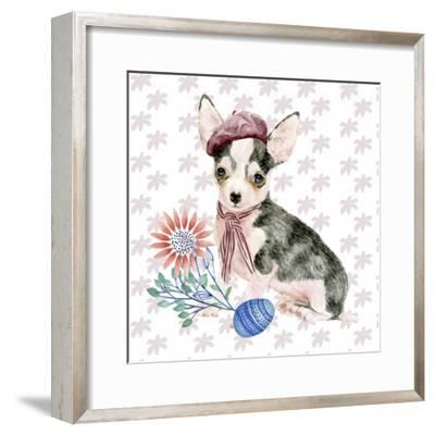 Easter Pups II-Melissa Wang-Framed Art Print