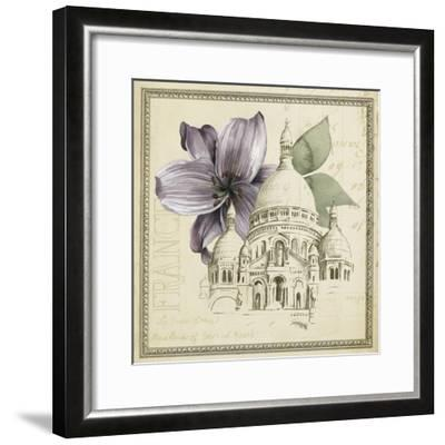 Paris Ephemera III-Grace Popp-Framed Art Print