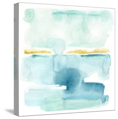 Liquid Shoreline VI-June Vess-Stretched Canvas Print