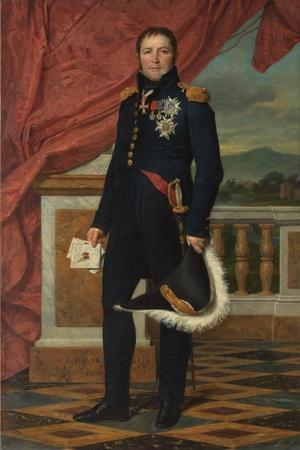 General Etienne-Maurice Gerard, 1816-Jacques Louis David-Framed Giclee Print