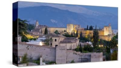 Alhambra-Charles Bowman-Stretched Canvas Print