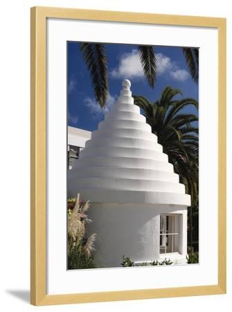 Limestone Roof, Hamilton, Bermuda-George Oze-Framed Photographic Print