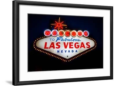 Fabulous Las Vegas Sign-Steve Gadomski-Framed Photographic Print