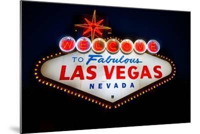 Fabulous Las Vegas Sign-Steve Gadomski-Mounted Photographic Print