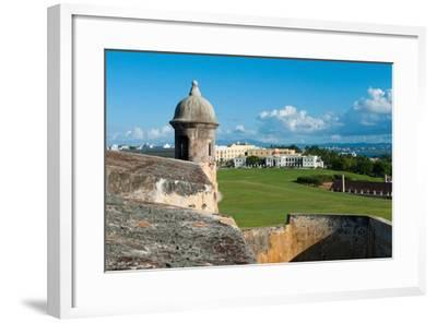 San Juan Scenic View from El Morro Fort-George Oze-Framed Photographic Print