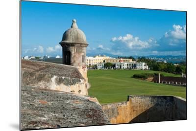 San Juan Scenic View from El Morro Fort-George Oze-Mounted Photographic Print