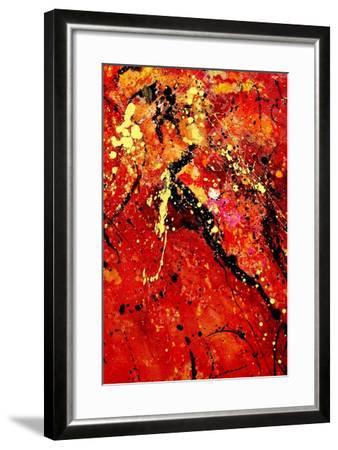 Abstract 569-Pol Ledent-Framed Art Print