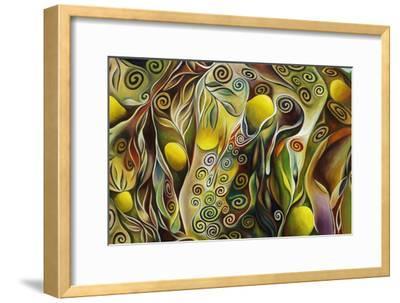 Tree Of Life-Hyunah Kim-Framed Art Print