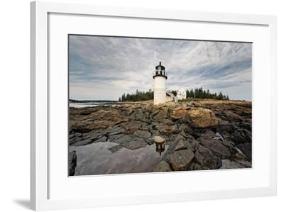 Lighthouse View, Port Clyde, Maine-George Oze-Framed Photographic Print