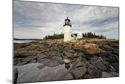 Lighthouse View, Port Clyde, Maine-George Oze-Mounted Photographic Print