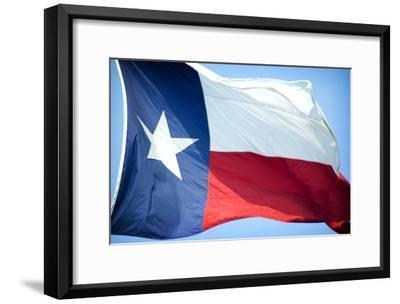 Texas Flag-John Gusky-Framed Photographic Print